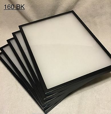 5 assorted  Riker Mount Display Case Shadow Box Frame Tray