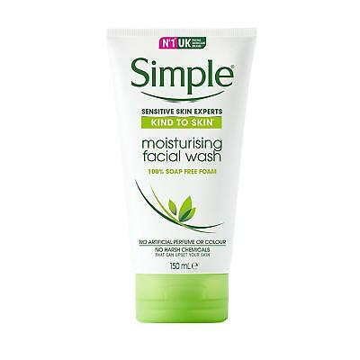 Simple Kind To Skin Moisturing Facial Wash 150Ml Sensitive Skin Experts