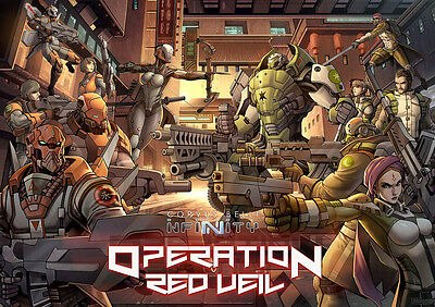 Corvus Belli Infinity BNIB Operation Red Veil 280010