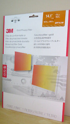 "3M Gpf14.1W Gold Privacy Filter 14.1"" Widescreen Filter"