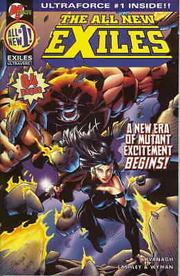 All New Exiles, The #1B VF/NM; Malibu   save on shipping - details inside