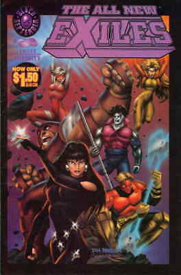 All New Exiles, The #0 VF/NM; Malibu   save on shipping - details inside