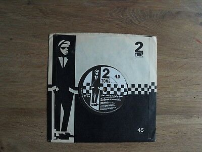 "Elvis Costello I can`t stand up for Falling down 2-Tone 7"" Ska The Specials Mod"