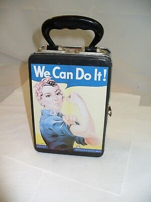 """Rosie the Riveter """"We Can Do It!"""" Metal Lunch Box"""