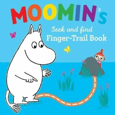 Moomin's Seek and Find Finger-Trail book by Tove Jansson 9780141375588