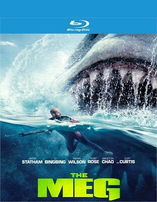 The Meg (Blu-ray Disc Only, 2018) - Please read