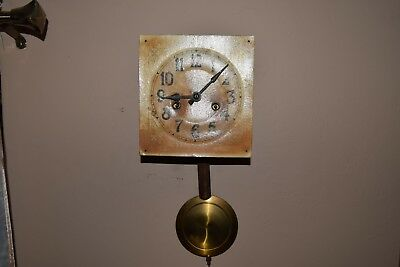 Antique M.A.C. Movement to the German wall clock.