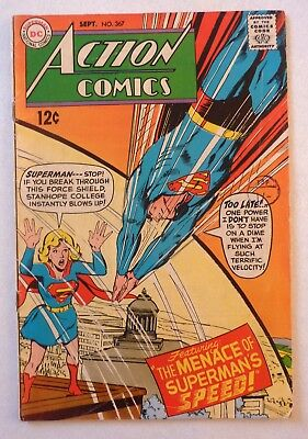 Action Comics 367 Superman Silver Age 1968 DC VG++/NF- Condition