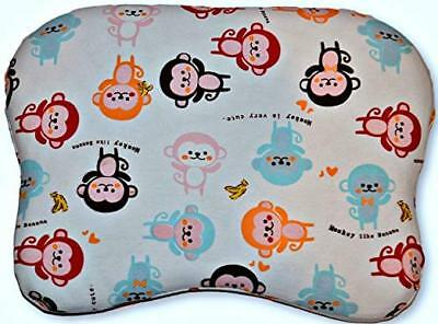 NEW DESIGN Baby Flat Head Memory Foam Pillow for Infants and Toddlers