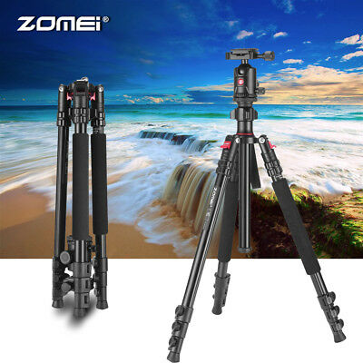 M7 Portable Aluminium Tripod Stand Zomei Monopod Travel For Digital SLR Camera