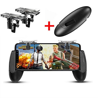 Mobile Game Controller, Game Pad Sensitive Shoot and Aim Keys Joysticks Game for