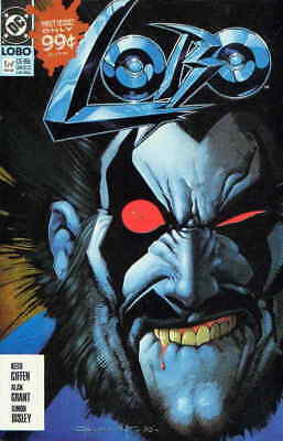 Lobo (Mini-Series) #1 (2nd) FN; DC   save on shipping - details inside