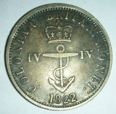 1822 Great Britain Colonial Anchor Money Token