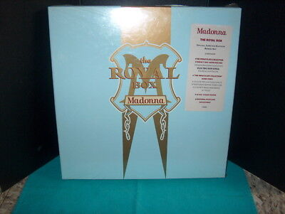 """The Royal Box """"madonna"""" Special Limited Edition Cd Box Set Sealed W/poster & Car"""