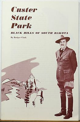 1960 Custer State Park Black Hills South Dakota vintage informational brochure b