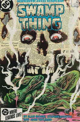 Saga of the Swamp Thing, The #35 VF/NM; DC | save on shipping - details inside