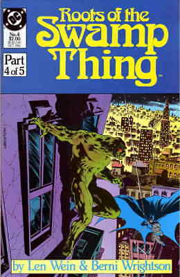 Roots of the Swamp Thing #4 VF/NM; DC | save on shipping - details inside