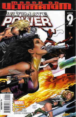 Ultimate Power #9 VF; Marvel | save on shipping - details inside