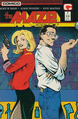 Maze Agency, The #1 GD; Innovation | low grade comic - save on shipping - detail