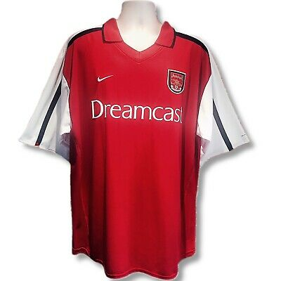 ARSENAL 2000-2002 AUTHENTIC Nike Dreamcast Home Shirt (XXL) - £54.95 ... 5031bcfd5
