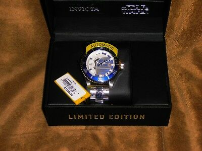 $1395 MSRP LIMITED EDITION Star Wars Invicta Steel Automatic Watch 26596 R2 D2
