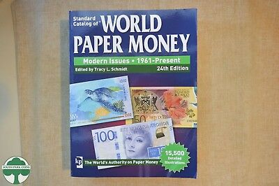 KRAUSE STANDARD CATALOG OF WORLD PAPER MONEY - MODERN ISSUES - 24th EDITION