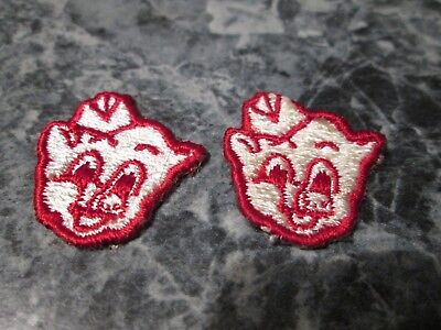 Vintage Piggly Wiggly Patch, 2 Sew on, Iron on, Small for Hat ?