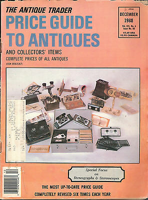 The Antique Trader Price Guide To Antiques And Collectors' Items December 1988