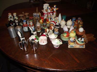 Lot of Vintage Salt and Pepper Shakers! Nice Variety