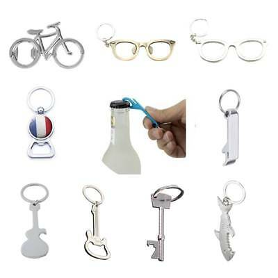 Metal Bottle Opener Key Fob Ring Chain Keyring Keychain Claw Beer Bar Tool Gift