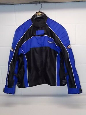 Clean Used Mossi Motosports Apparel Racing Motocross Racing Back Armor Jacket Md
