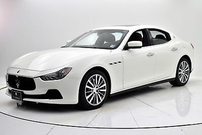 2015 Ghibli S Q4 2015 Maserati Ghibli S Q4, One Owner, Only 11,004 Miles, Factory Dealer