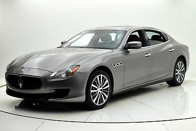 2016 Quattroporte S Q4 2016 Maserati Quattroporte S Q4, One Owner, Only 7,415 MIles, Sold By Us New