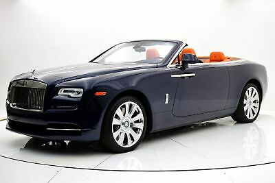 2016 Dawn -- 2016 Rolls-Royce Dawn, Warranty & Maintenance, Full Canadel Paneling, One Owner