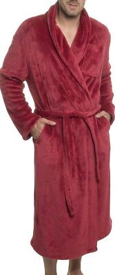 f28f8ba3f8 Ross Michaels NEW Red Mens Size XL Shawl Collar Kimono Belted Robes  50  951