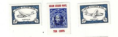 Old Pacific Ocean Of Guam    * Local  Guard Mail Mint == 3 ==