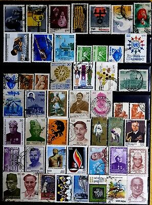 India: 1970's To 80's Stamp Collection