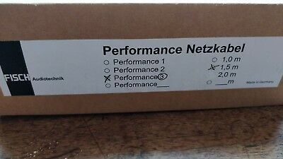 High End Netzkabel Fisch Audiotechnik Performance 3