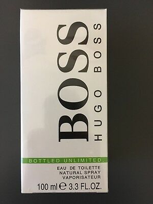 PARFUM BOSS BOTTLED UNLIMITED EDT 100ML Neuf et sous blister