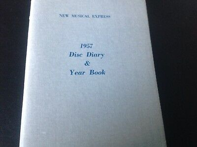 New Musical Express ,nme 1957 Disc Diary & Yearbook