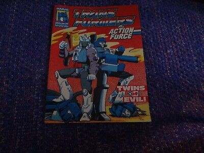 Marvel Transformers and Action Force Comic #202 28th January 1989