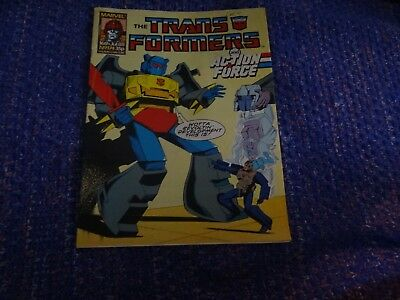 Marvel Transformers and Action Force Comic #174 16th July 1988