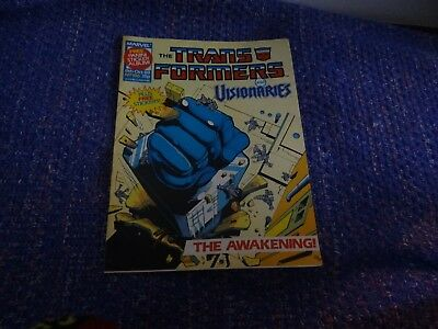 Marvel Transformers and Visionaries Comic #186 8th October 1988