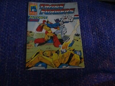 Marvel Transformers and Action Force Comic #201 21st January 1989