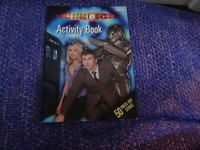 BBC Doctor Who Activity Book From 2006