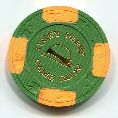 Fractional Chip 50 cent Lucky Derby Game Room Casino Citrus Heights CA