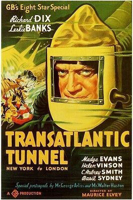 The(Transatlantic)Tunnel 1935,trapped By Television 1936,non Stop New York 1937