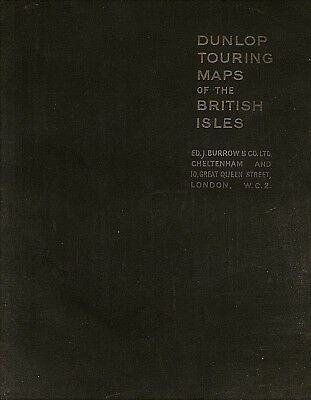 Dunlop Touring Maps of the BRITISH ISLES - 1940s