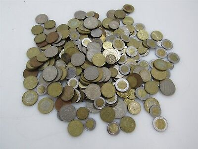 Unsorted, Uncounted Circulated Pesos Foreign Coin/Currency 5.2 LBS