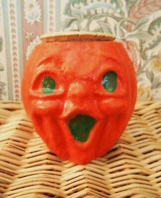 Vintage antique Halloween MINI JOL pumpkin NUT CUP in very good condition early